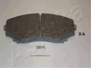 Ashika 50-03-384 - Piduriklotsi komplekt,ketaspidur multiparts.ee