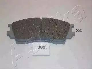 Ashika 50-03-382 - Piduriklotsi komplekt,ketaspidur multiparts.ee