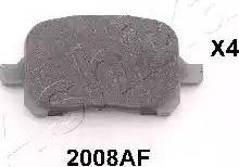 Ashika 50-02-2008 - Piduriklotsi komplekt,ketaspidur multiparts.ee
