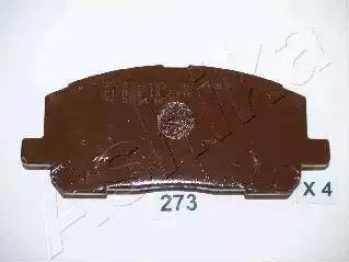 Ashika 50-02-273 - Piduriklotsi komplekt,ketaspidur multiparts.ee