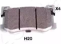 Ashika 50-0H-H20 - Piduriklotsi komplekt,ketaspidur multiparts.ee
