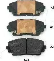 Ashika 50-0K-K23 - Piduriklotsi komplekt,ketaspidur multiparts.ee
