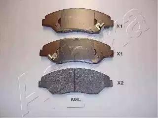 Ashika 50-K0-000 - Piduriklotsi komplekt,ketaspidur multiparts.ee