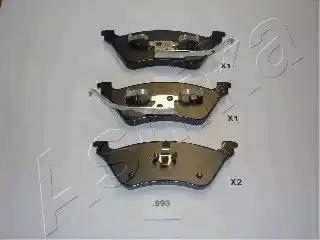 Ashika 51-09-993 - Piduriklotsi komplekt,ketaspidur multiparts.ee