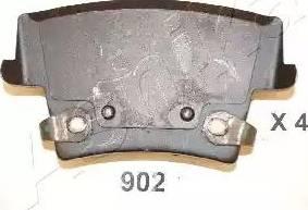 Ashika 51-09-902 - Piduriklotsi komplekt,ketaspidur multiparts.ee
