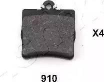 Ashika 51-09-910 - Piduriklotsi komplekt,ketaspidur multiparts.ee