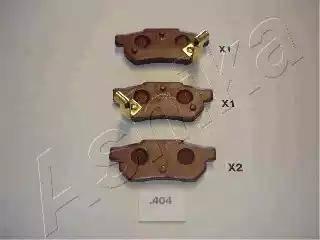 Ashika 51-04-404 - Piduriklotsi komplekt,ketaspidur multiparts.ee