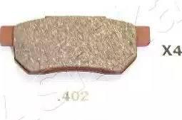 Ashika 51-04-402 - Piduriklotsi komplekt,ketaspidur multiparts.ee