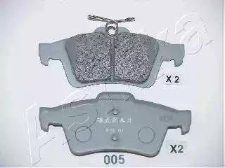 Ashika 51-00-005 - Piduriklotsi komplekt,ketaspidur multiparts.ee