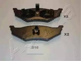 Ashika 51-00-016 - Piduriklotsi komplekt,ketaspidur multiparts.ee
