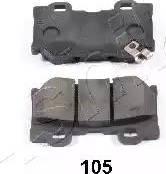 Ashika 51-01-105 - Piduriklotsi komplekt,ketaspidur multiparts.ee