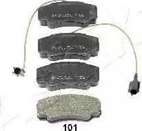 Ashika 51-01-101 - Piduriklotsi komplekt,ketaspidur multiparts.ee