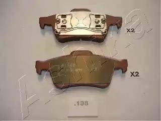 Ashika 51-01-138 - Piduriklotsi komplekt,ketaspidur multiparts.ee