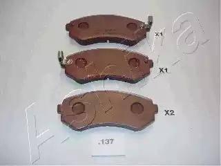 Ashika 51-01-137 - Piduriklotsi komplekt,ketaspidur multiparts.ee