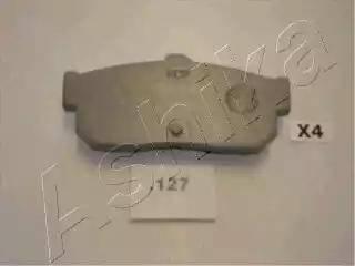 Ashika 51-01-127 - Piduriklotsi komplekt,ketaspidur multiparts.ee