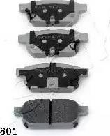 Ashika 51-08-801 - Piduriklotsi komplekt,ketaspidur multiparts.ee