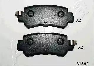 Ashika 51-03-313 - Piduriklotsi komplekt,ketaspidur multiparts.ee