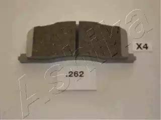 Ashika 51-02-262 - Piduriklotsi komplekt,ketaspidur multiparts.ee