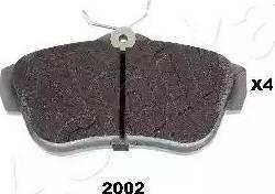 Ashika 51-02-2002 - Piduriklotsi komplekt,ketaspidur multiparts.ee