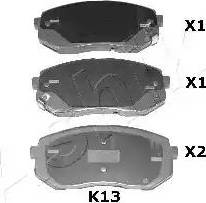 Ashika 51-0K-K13 - Piduriklotsi komplekt,ketaspidur multiparts.ee