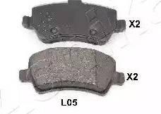 Ashika 51-0L-L05 - Piduriklotsi komplekt,ketaspidur multiparts.ee