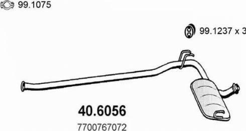 ASSO 40.6056 - Kesksummuti multiparts.ee