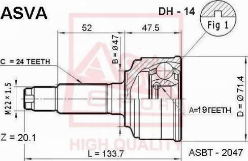 ASVA HYBC-CMRL - Pidurisadul multiparts.ee