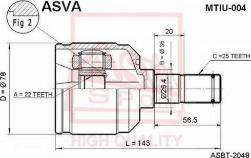 ASVA VWBC-1JAFL - Pidurisadul multiparts.ee