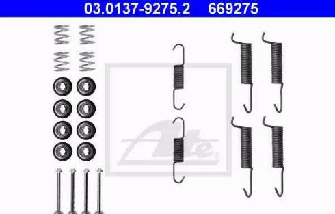 ATE 03.0137-9275.2 - Lisakomplekt, seisupiduriklotsid multiparts.ee