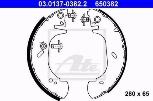 ATE 03.0137-0382.2 - Piduriklotside komplekt multiparts.ee