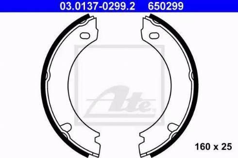 ATE 03.0137-0299.2 - Piduriklotside komplekt,seisupidur multiparts.ee
