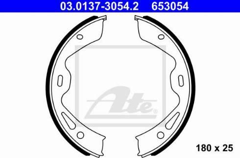 ATE 03.0137-3054.2 - Piduriklotside komplekt,seisupidur multiparts.ee