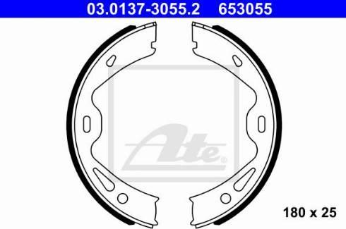 ATE 03.0137-3055.2 - Piduriklotside komplekt,seisupidur multiparts.ee