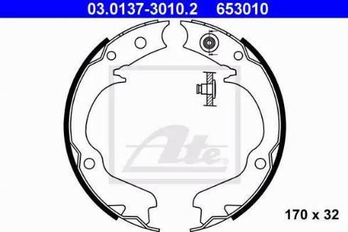 ATE 03.0137-3010.2 - Piduriklotside komplekt,seisupidur multiparts.ee