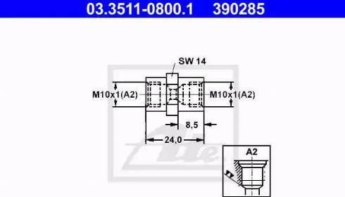 ATE 03.3511-0800.1 - Adapter, piduritorustik multiparts.ee