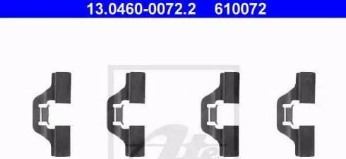 ATE 13.0460-0072.2 - Lisakomplekt, ketaspiduriklotsid multiparts.ee