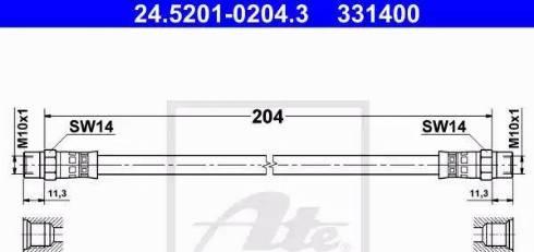 ATE 24.5201-0204.3 - Sidurivoolik multiparts.ee