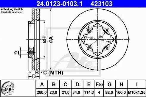 Alpha Brakes HTP-HD-023 - Piduriketas multiparts.ee