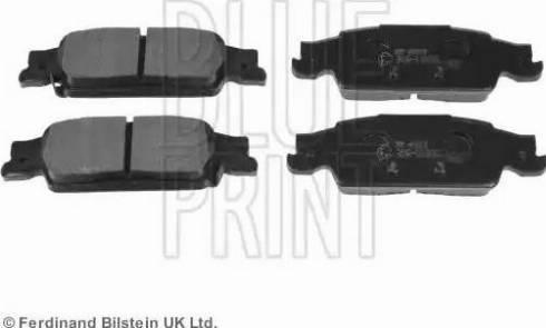 Blue Print ADA104250 - Piduriklotsi komplekt,ketaspidur multiparts.ee
