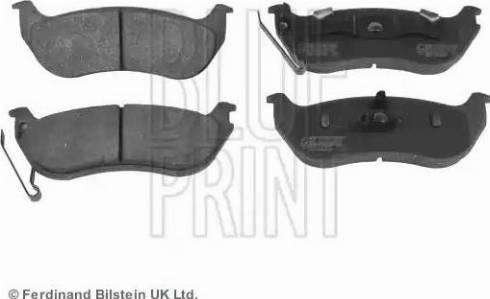 Blue Print ADA104260 - Piduriklotsi komplekt,ketaspidur multiparts.ee