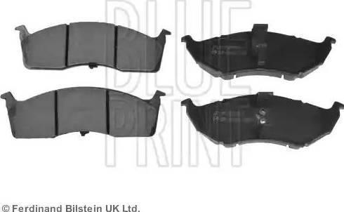 Blue Print ADA104227 - Piduriklotsi komplekt,ketaspidur multiparts.ee