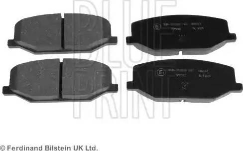 Blue Print ADK84224 - Piduriklotsi komplekt,ketaspidur multiparts.ee
