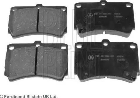 Blue Print ADM54249 - Piduriklotsi komplekt,ketaspidur multiparts.ee