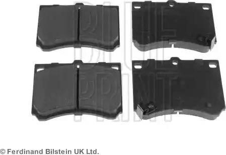 Blue Print ADM54227 - Piduriklotsi komplekt,ketaspidur multiparts.ee