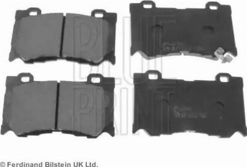Blue Print ADN142148 - Piduriklotsi komplekt,ketaspidur multiparts.ee