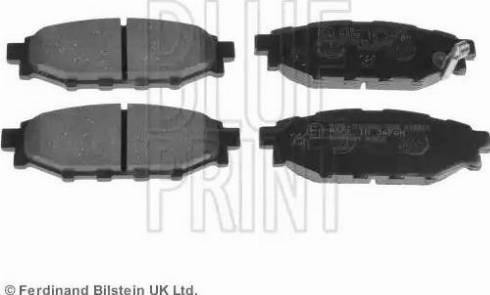 Blue Print ADS74233 - Piduriklotsi komplekt,ketaspidur multiparts.ee