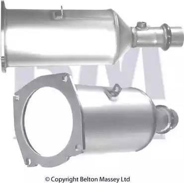 BM Catalysts BM11009 - Tahma-/partikelfilter,väljalaskesüst. multiparts.ee