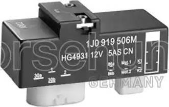 Borsehung B17825 - Relee,radiaatoriventilaatori jaoks multiparts.ee
