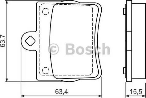 BOSCH 0 986 494 017 - Piduriklotsi komplekt,ketaspidur multiparts.ee