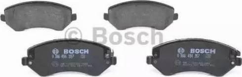BOSCH 0 986 494 357 - Piduriklotsi komplekt,ketaspidur multiparts.ee